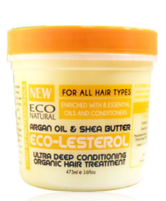 Eco Natural Eco Lesterol Argan Oil And Shea Butter
