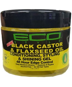 Black Castor And Flaxseed Oil Conditioning Styling And Shining Gel