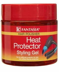 Fantasia Hair Polisher Heat Protector Styling Gel