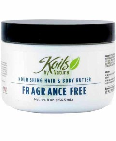 Fragrance Free Nourishing Hair And Body Butter
