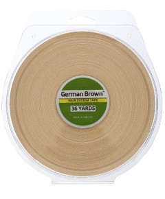 German Brown Hair System Tape
