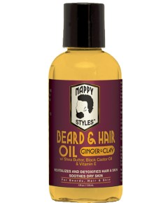 Nappy Styles Ginger And Clay Beard Oil