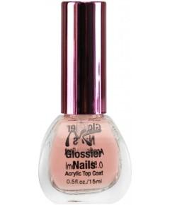 NK Glossier Nails Acrylic Top Coat