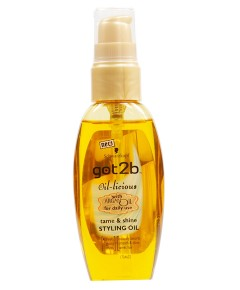 Got2b Oil Licious Tame And Shine Styling Oil With Argan Oil