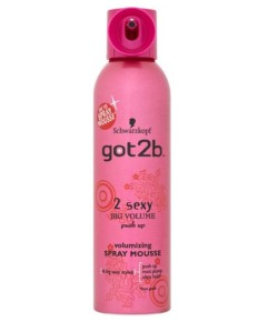 Got2b 2 Sexy Big Volumizing Mousse