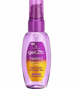 Got2b Twisted Lightweight Styling Oil