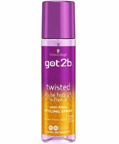 Got2b Twisted Be Frizz Anti Frizz Styling Spray