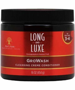 As I Am Long And Luxe Growash Cleansing Creme Conditioner