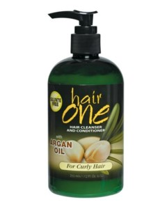 Hair Cleanser and Conditioner with Argan Oil