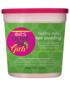 ORS Olive Oil Girls Hair Pudding Jar