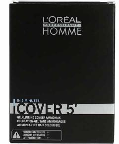 Homme Cover 5 Ammonia Free Hair Colour Gel