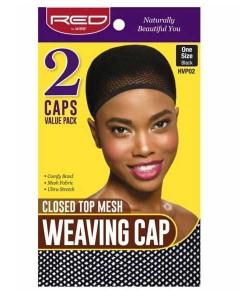 Closed Top Mesh Weaving Cap Black HVP02
