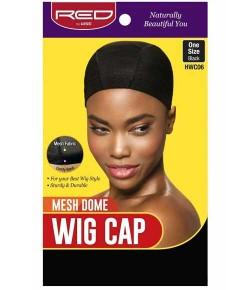 Mesh Dome Wig Cap Black HWC06