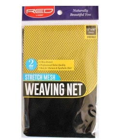 Stretch Mesh Weaving Net Black HWN02