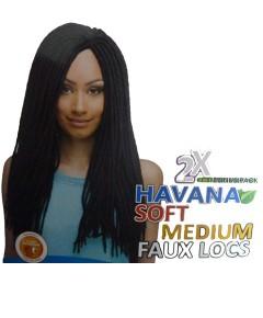 Impression Syn 2 X Havana Soft Medium Faux Locs