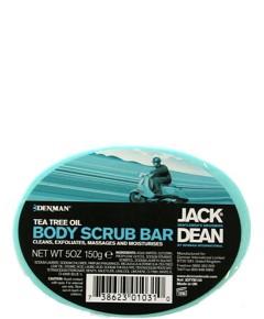 Jack Dean Tea Tree Oil Body Scrub Bar