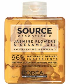 Source Essentielle Jasmine Flowers And Sesame Oil Nourishing Shampoo