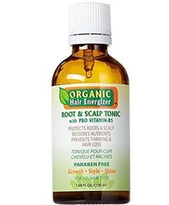 Organic Hair Energizer Root And Scalp Tonic