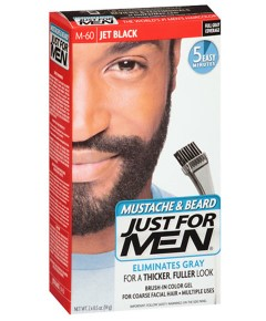 Just For Men Mustache And Beard Brush In Color Gel