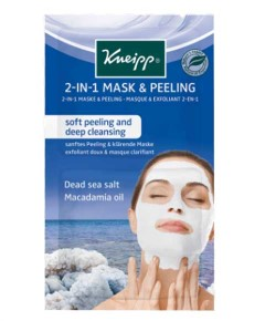 2In1 Mask And Peeling With Dead Sea Salt And Macadamia Oil