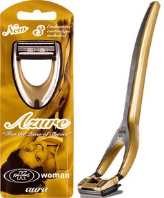 Azure Aura System Razor for Women