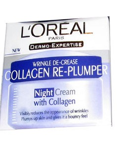 Wrinkle De Crease Collagen Re Plumper Night Cream
