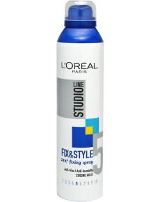 Studio Line Fix And Style 24H Fixing Spray