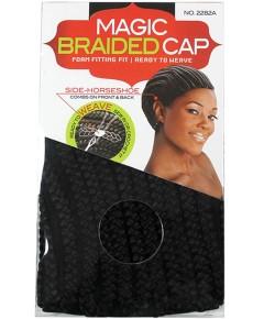 Magic Braided Cap Black