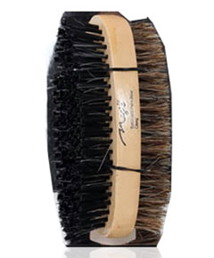 Magic Collection Hard And Soft Double Round Palm Brush 7710
