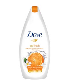 Go Fresh Mandarin And Tiare Flower Scent Body Wash