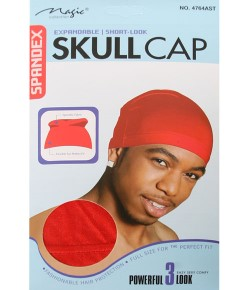Magic Collection Spandex Skull Cap 4764AST