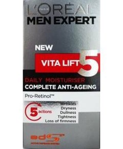 Men Expert Vita Lift 5 Daily Moisturiser Eye Roll On