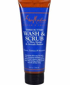 Men Three Butters Wash And Scrub