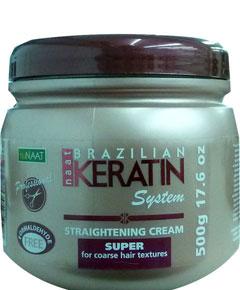 Brazilian Keratin Straightening Cream Hair Texturant