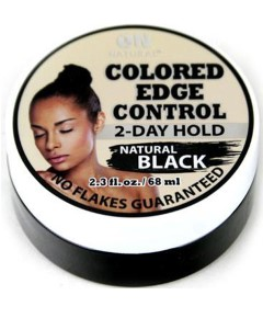 On Natural Natural Black Colored Edge Control Gel
