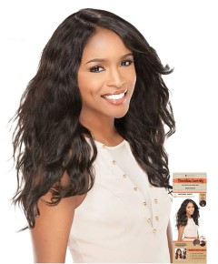 Brazilian Virgin Remi Natural Wavy Lace Wig