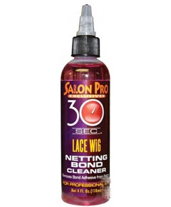 Salon Pro 30 Sec Lace Wig Netting Bond Cleaner