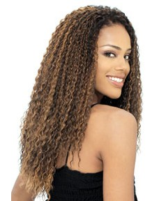 Glance Syn Brazilian Curl Braid