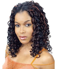 Glance Syn Italian Curl Weave