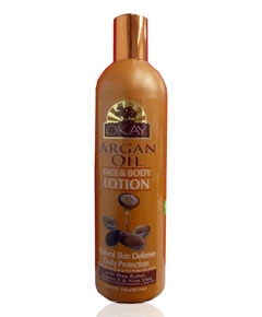 OKAY Argan Oil Face And Body Lotion