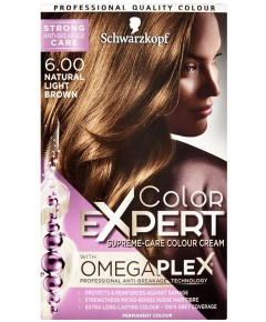 Color Expert Omegaplex Colour Cream 6.00 Natural Light Brown
