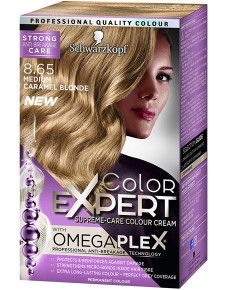 Color Expert Omegaplex Colour Cream 8.65 Medium Caramel Blonde
