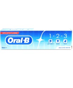 Delicate White With Active Fluoride Toothpaste
