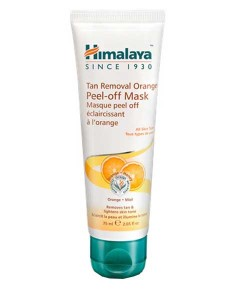 Tan Removal Orange Peel Off Mask