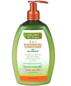 Organic Hair Energizer 5 In 1 Rejuvenating Conditioner