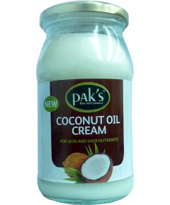 Paks Coconut Oil Cream