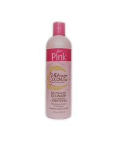 Pink Shea Butter Coconut Oil Detangling Co Wash Cleansing Conditioner