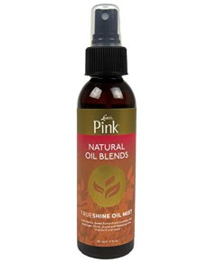 Pink Natural Oil Blends Trueshine Oil Mist
