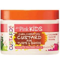 Pink Kids Curl Custard For Twist And Braids