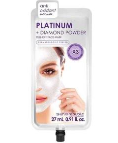 Skin Republic Platinum Plus Diamond Powder Peel Off Face Mask